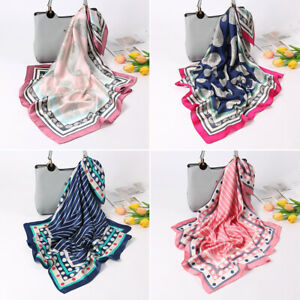 Women-Scarves-Shawls-Silk-Satin-Square-Scarf-Neckerchief-Bandana-Neck-Tie-Hijab