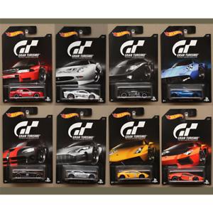 1 Modellino a Scelta VEICOLI GT GRAN TURISMO 1:64 Hot Wheels Die Cast