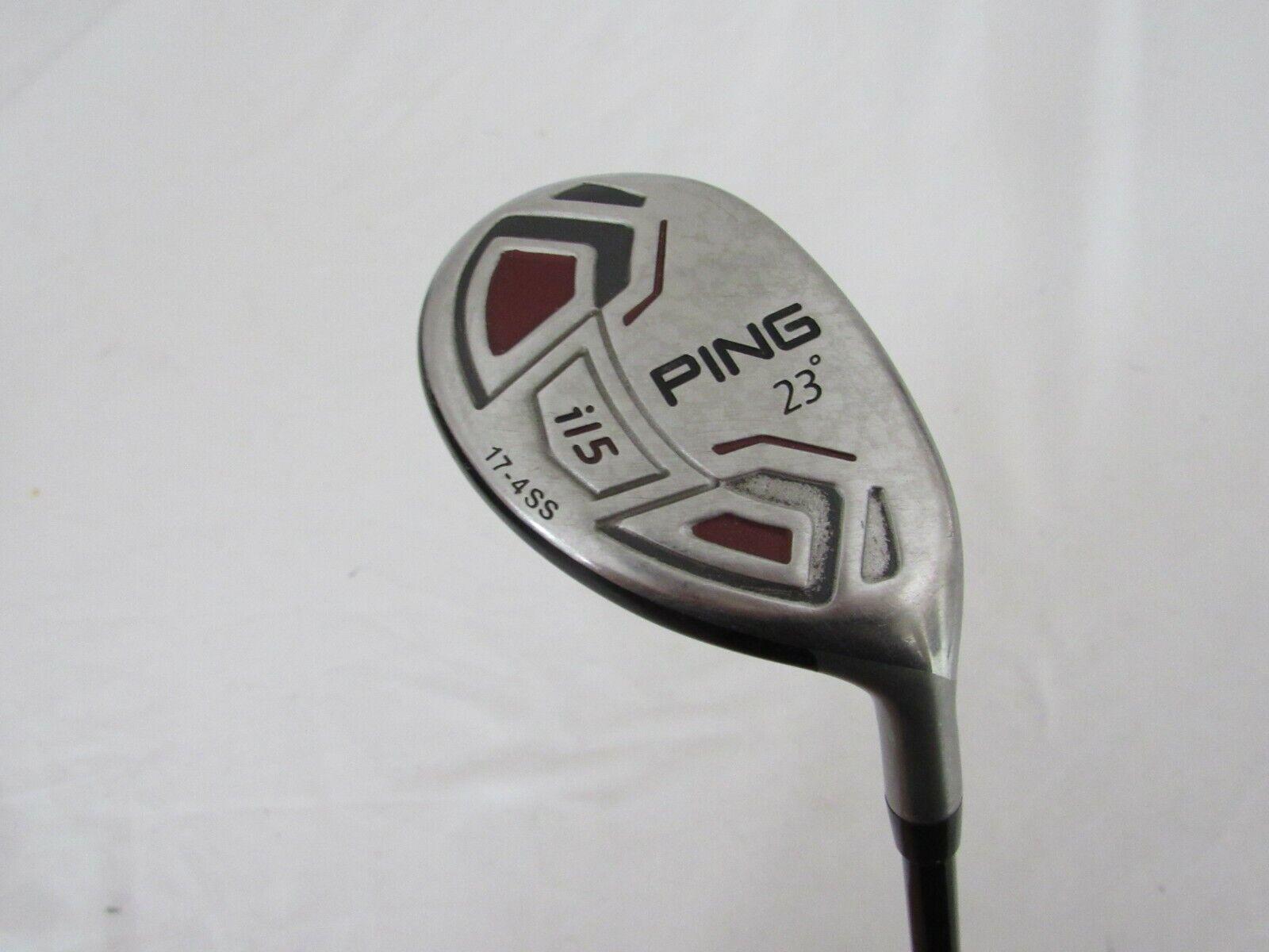 Utiliza la mano derecha  Ping i15 23 ° Hybrid-GRAPHITE Design 85g Eje Regular R-Flex Flex (R)  Tienda de moda y compras online.