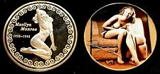 MARILYN MONROE 1926-1962 Commemorative 24k Gold Plated Challenge Coin