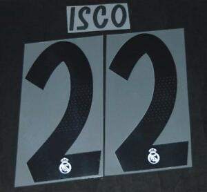 Real-Madrid-Isco-22-2018-19-Football-Shirt-Name-Number-Set-Sporting-ID-Adult