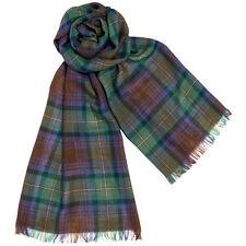 100% Pure New Wool Isle of Skye Tartan Fine Light Stole/Scarf