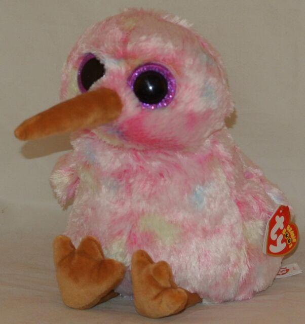 Ty Beanie Babies 36415 Boos Kiwi the Pink Bird Boo Buddy