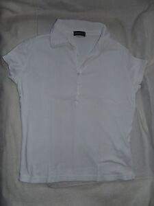 Flash-Lights-Shirt-Kragen-36-38-weiss-Knoepfe