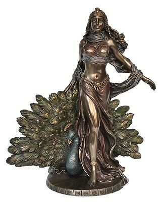 Veronese Bronze Figurine Greek Goddess Hera Gift Home Decor Mythology