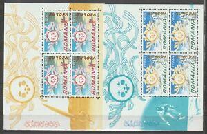 s36100 ROMANIA 2004 EUROPA CEPT MNH** S/Sx2 HOLIDAYS