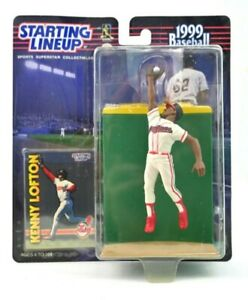 NEW NOS 1999 Starting Lineup Kenny Lofton Baseball Figure Vintage RARE J
