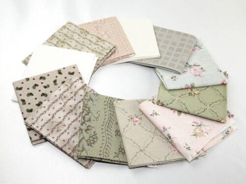 FQ-M Fat Quarters Algodón Quilting fabric por paquete de 4