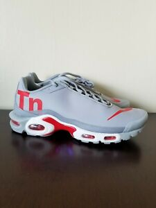 release date: ed97b 55087 Details about Nike Air Max Plus TN Mercurial Wolf Grey Red White Men's  AQ1088-001 Size 11