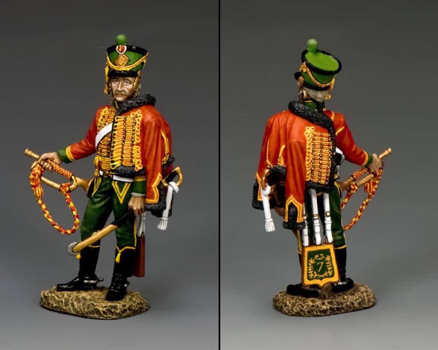 NA312X Trumpeter av kung och land
