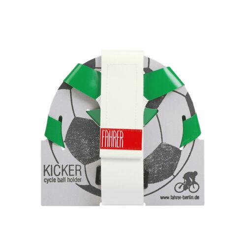 Fahrrad schnell montiert ideales Geschenk Universeller Ballhalter Grün//Weiß