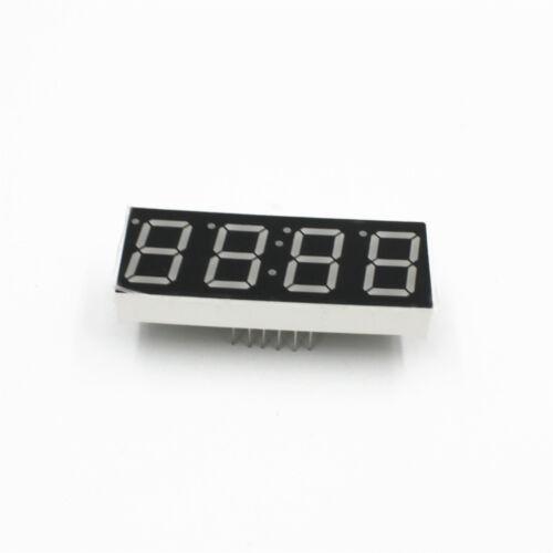 Neu 0.56/'/' Inch 4 Stelligen LED Display Rot  Digital Anzeige 1Stk