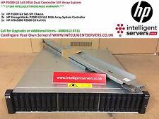 HP P2000 G3 SAS MSA Dual Controller 24SFF Array System with Rails ** AW594A **