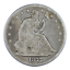 thumbnail 1 - 1877 Seated Liberty Half Dollar Good Condition