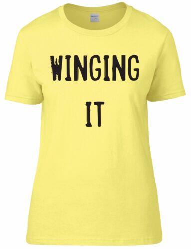 Si passa da Donna Aderente Tee T-shirt