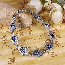 Hamsa Bracelet Fast Shipping in the USA Evil Eye Jewish Good Luck