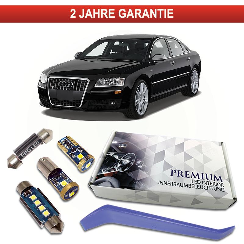 Audi A6 S6 C5 4B Avant LED Innenraumbeleuchtung Premium Set 22 SMD Weiß