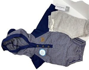 Carters Baby Boy Newborn Conjunto De Pantalon Para Bebe Carter New Ebay