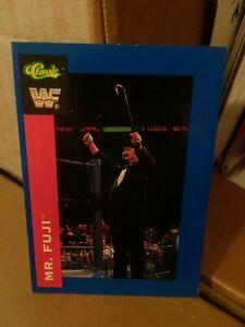 WWF-MR-FUJI-CLASSIC-SUPERSTARS-TRADING-CARD-47-1991-WRESTLING-WWE-WCW-HASBRO