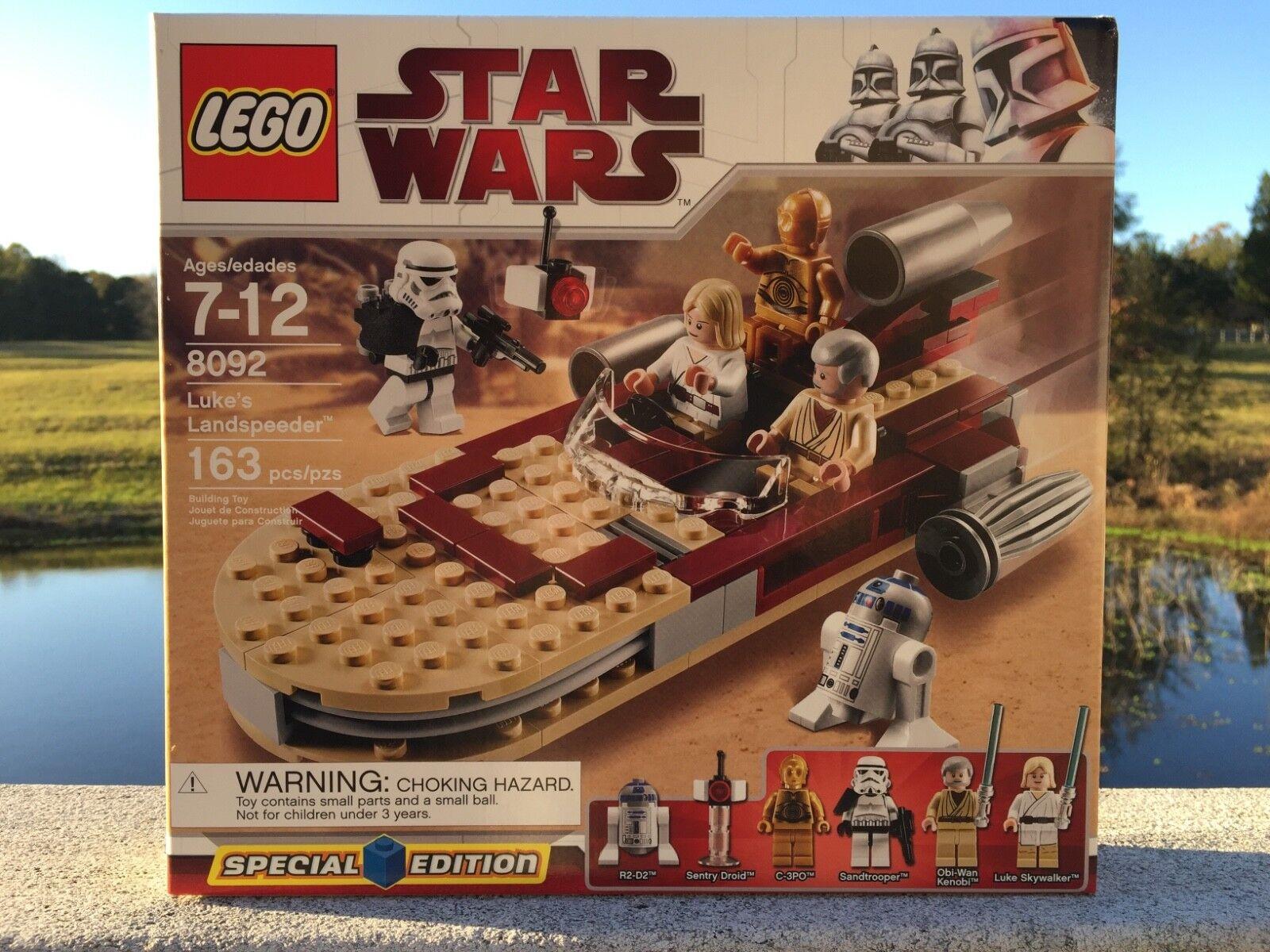 LEGO Star Wars Luke's Landspeeder (8092) Special Edition  New in Sealed Box NISB
