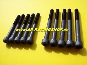 Zylinderkopfschrauben-verstaerkt-Gr-A-Fiat-Punto-GT-Uno-turbo-1-4l-racing