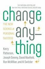 Change Anything: The New Science of Personal Success-ExLibrary