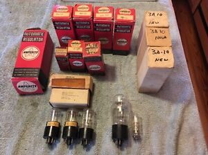 Large Lot Amperite Vacuum Tube Ballast Regulator Tubes Ham Boatanchor