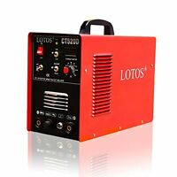 Lotos Ct520d Plasma Cutter And Tig Welder 3 In 1 Welding Plasma Cutting Tig Stic