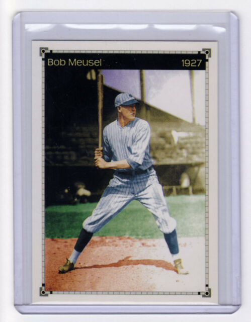 Bob Meusel – '27 New York Yankees Murderers Row slugger, original Miller Press
