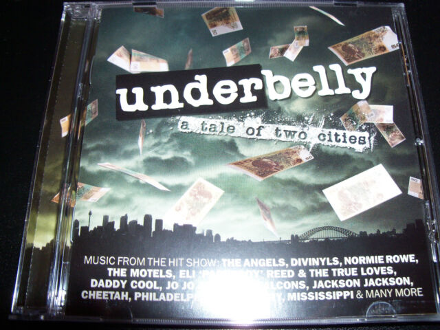 Underbelly Tale Of Two Cities Australian Soundtrack CD Feat Hard Ons The Angels