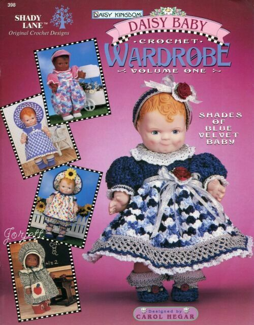 How to crochet doll lace dress / doll clothes - YouTube | 640x500