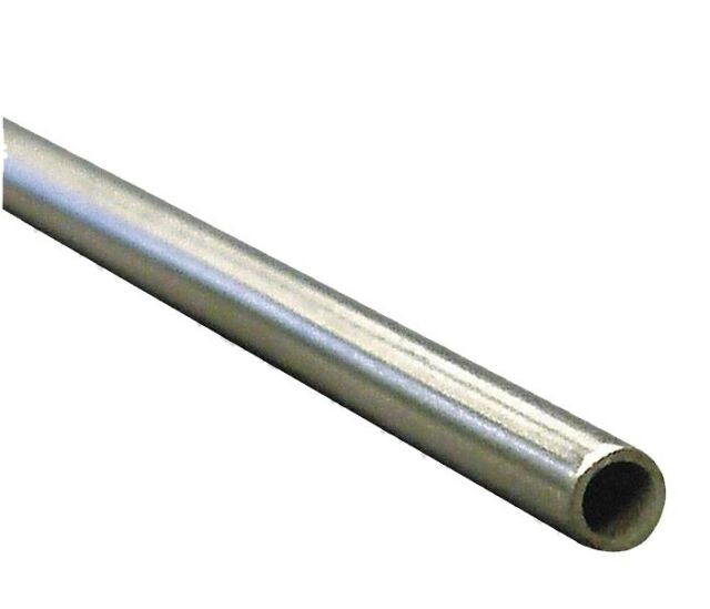 """Welded 304 Stainless Steel Tubing ZORO SELECT 3ADD3 1//8/"""" OD x 6 ft"""
