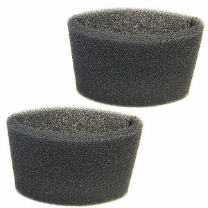 2x Foam Filter Sleeves For Shop Vac 2e200 3150 2010 2010a
