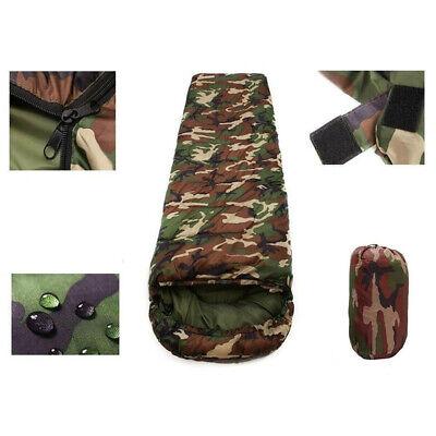 Waterproof Adult Camping Hiking Suit Case Envelope Sleeping Bag Single 3 Season