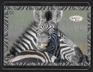 Jouet Kinder Puzzle 2d Kinder Game Zèbre De156 France 2009 + étui +bpz Bwmykfne-08011816-414633746