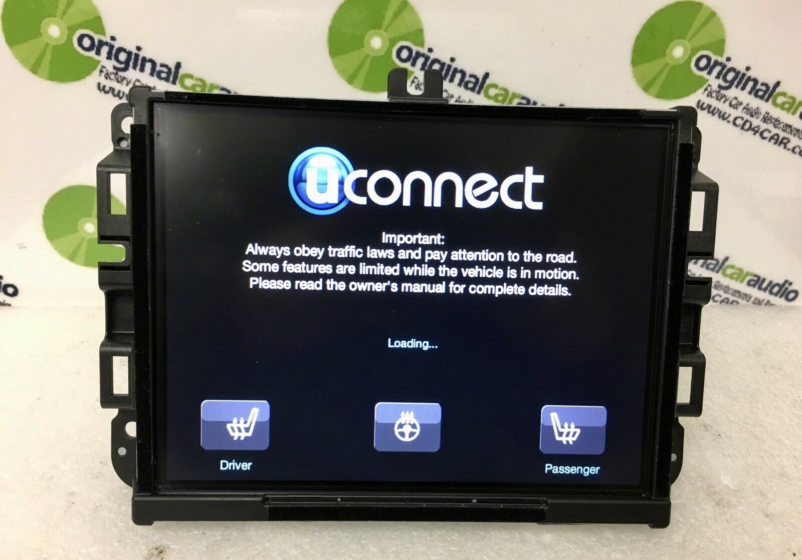 Uconnect compatible! =>