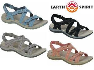 Ladies Sandals Earth Spirit Leather