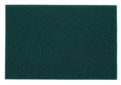 NORTON 66261079600 Abrasive Hand Pad,9in.L x 6in.W,Green,AO