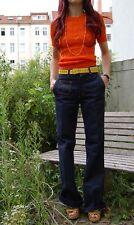 WISENT DDR Blue Jeans 70er Schlaghose Damen flared pants blau True VINTAGE 70's