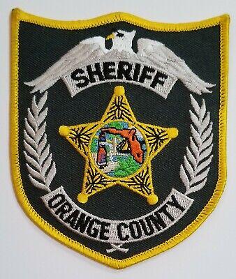 Port Orange Florida Police Patch Crest Applique Logo 3.75 Inch Diameter