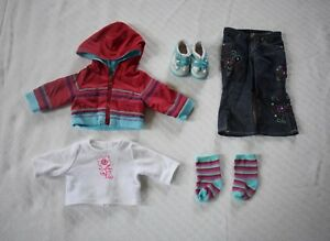 American-Girls-18-Doll-Retired-Ready-for-Fun-Winter-Outfit-EUC