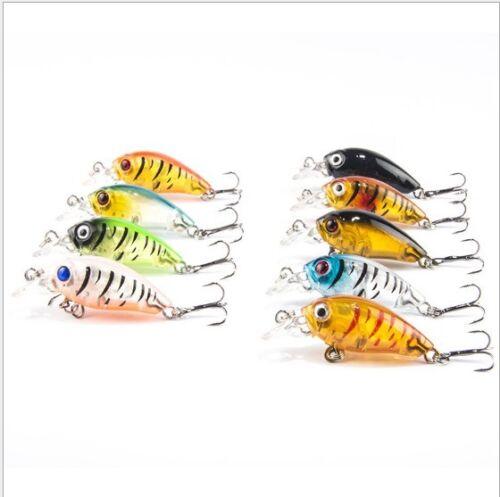 1 Angelköder Fischköder Kunstköder angeln beweglicher Köder Wobbler Angelzubehör