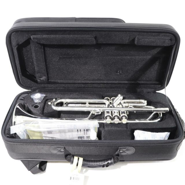 Jupiter Model JTR1100 Intermediate Bb Trumpet in Silver Plate OPEN BOX