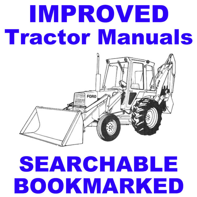 ford 455c 555c 655c tractor loader backhoe tlb service repair shop rh ebay com ford 555 service manual ford 555d backhoe service manual