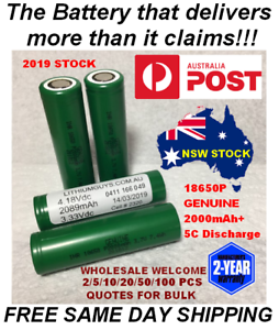 LITHIUM-GUYS-18650P-2000mAh-7-4Wh-5C-SUPER-CELL-Rechargeable-Li-Ion-Battery