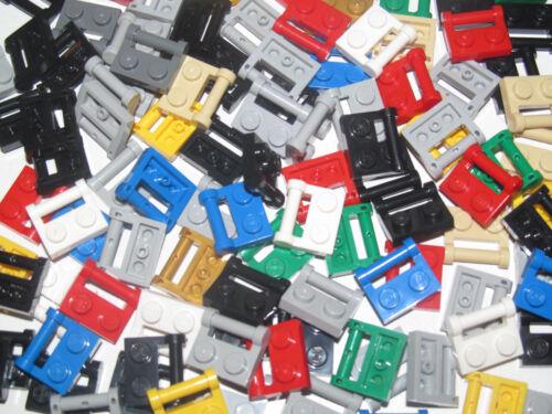 Lego ® Lot Plaques Poignée Plate 1x2 with Handle Side Choose Color 48336