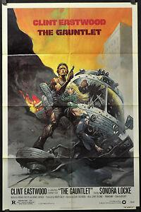 Guanto-1977-Orig-Film-Poster-27X41-Clint-Eastwood-Sondra-Locke-Frazetta-Arte