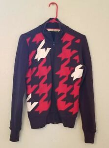 Vintage Tommy Hilfiger Womens Small Petite Houndstooth Full