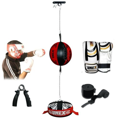 Onex Double End Speed Ball Punch Bag Double End  Support MMA Home Exercise Set