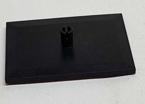 Lego Platte 4092 schwarz Drehplatte Eisenbahn für Set 7745 ..